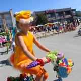 Детский конкурс велосипедистов