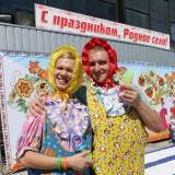 Усатые Няни - ведущие конкурса ползунков
