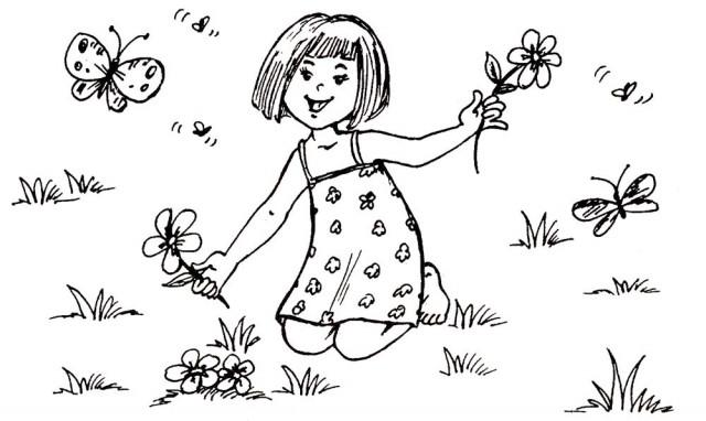 Онлайн раскраски - любимые развлечения маленьких девочек ...