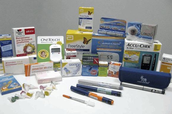 Лекарственные препараты при лечении сахарного диабета